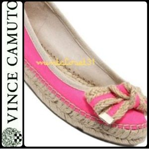 Vince Camuto Espadrille Leather Flats